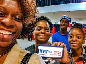 Keishia attended Washington Mystics vs. New York Liberty - WNBA on Jul 5th 2018 via VetTix