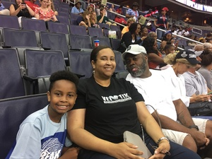 Click To Read More Feedback from Washington Mystics vs. Chicago Sky