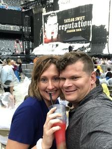 stephen attended Taylor Swift Reputation Stadium Tour on Jul 21st 2018 via VetTix
