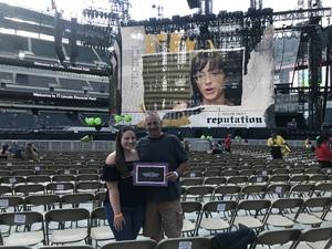 Eric attended Taylor Swift Reputation Stadium Tour on Jul 21st 2018 via VetTix