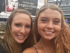Richele attended Taylor Swift Reputation Stadium Tour on Jul 21st 2018 via VetTix