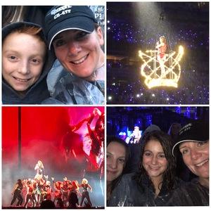 Megan attended Taylor Swift Reputation Stadium Tour on Jul 21st 2018 via VetTix