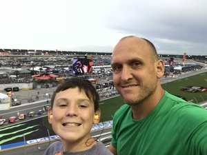 Phillip attended Coca-cola Firecracker 250 at Daytona on Jul 6th 2018 via VetTix