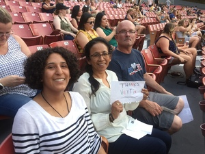 Richard attended Vance Joy Nation of Two World Tour on Jul 6th 2018 via VetTix