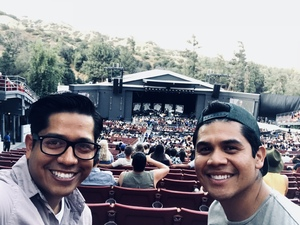 Hernan attended Vance Joy Nation of Two World Tour on Jul 6th 2018 via VetTix