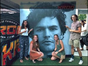 Kasey attended Vance Joy Nation of Two World Tour on Jul 6th 2018 via VetTix