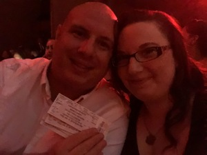 Zachary attended Mariah Carey - the Butterfly Returns on Jul 5th 2018 via VetTix