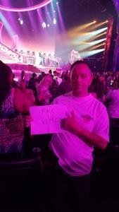 Joe attended Mariah Carey - the Butterfly Returns on Jul 5th 2018 via VetTix