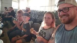 travis attended Coheed and Cambria & Taking Back Sunday - Alternative Rock on Jul 8th 2018 via VetTix