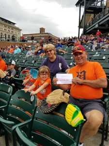 Gary attended Detroit Tigers vs. Cincinnati Reds - MLB on Aug 1st 2018 via VetTix