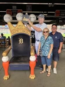 Robert attended Detroit Tigers vs. Cincinnati Reds - MLB on Aug 1st 2018 via VetTix