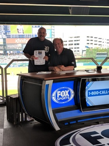 Michael attended Detroit Tigers vs. Cincinnati Reds - MLB on Aug 1st 2018 via VetTix