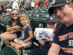 Scott attended Detroit Tigers vs. Cincinnati Reds - MLB on Aug 1st 2018 via VetTix