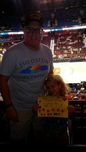 David attended Connecticut Sun vs. Dallas Wings - WNBA - Basketball on Aug 14th 2018 via VetTix