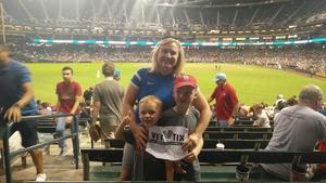 Laura attended Arizona Diamondbacks vs. Texas Rangers - MLB on Jul 30th 2018 via VetTix