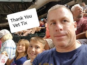Mark attended Arizona Diamondbacks vs. Texas Rangers - MLB on Jul 30th 2018 via VetTix