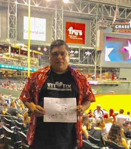 Pedro attended Arizona Diamondbacks vs. Texas Rangers - MLB on Jul 30th 2018 via VetTix