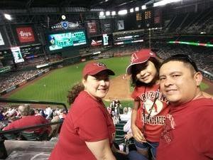 Juan attended Arizona Diamondbacks vs. Texas Rangers - MLB on Jul 30th 2018 via VetTix