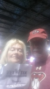 Ronald attended Arizona Diamondbacks vs. Texas Rangers - MLB on Jul 30th 2018 via VetTix