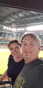 Douglas attended Arizona Diamondbacks vs. San Francisco Giants - MLB on Aug 3rd 2018 via VetTix