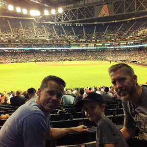 Shane attended Arizona Diamondbacks vs. San Francisco Giants - MLB on Aug 3rd 2018 via VetTix