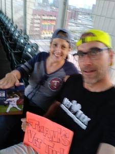 Chad attended Minnesota Twins vs. Kansas City Royals - MLB on Aug 4th 2018 via VetTix