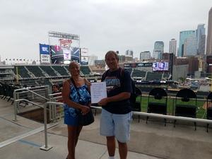 gene attended Minnesota Twins vs. Kansas City Royals - MLB on Aug 4th 2018 via VetTix