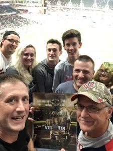 Adam attended Minnesota Twins vs. Kansas City Royals - MLB on Aug 4th 2018 via VetTix