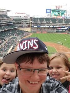 Krista attended Minnesota Twins vs. Kansas City Royals - MLB on Aug 4th 2018 via VetTix