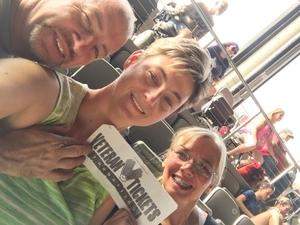 Adron attended 3 Doors Down & Collective Soul: the Rock & Roll Express Tour on Jul 17th 2018 via VetTix