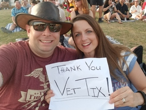 MSgt Travis H attended 3 Doors Down & Collective Soul: the Rock & Roll Express Tour on Jul 17th 2018 via VetTix