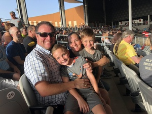 Tony attended 3 Doors Down & Collective Soul: the Rock & Roll Express Tour on Jul 17th 2018 via VetTix