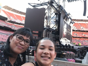 Yvonne attended Taylor Swift Reputation Stadium Tour on Jul 17th 2018 via VetTix