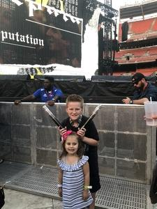 Melissa attended Taylor Swift Reputation Stadium Tour on Jul 17th 2018 via VetTix