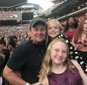 William attended Taylor Swift Reputation Stadium Tour on Jul 17th 2018 via VetTix