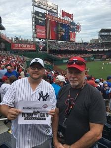 Jason attended 2018 MLB All-star Game - American League vs. National League on Jul 17th 2018 via VetTix