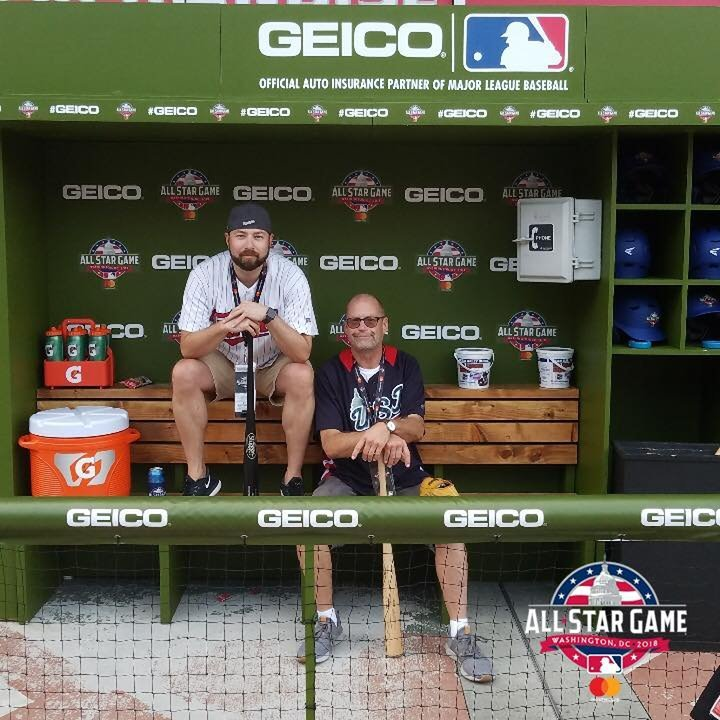 8e21c6e7550 Larry attended 2018 MLB All-star Game - American League vs. National League  on