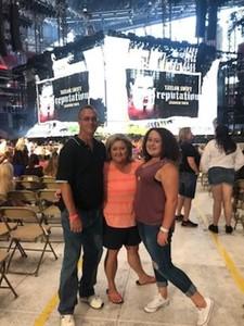 Daniel attended Taylor Swift Reputation Tour on Aug 11th 2018 via VetTix