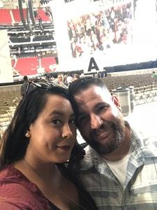 Kevin attended Taylor Swift Reputation Tour on Aug 11th 2018 via VetTix