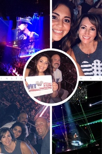 Jeremy attended Tim McGraw & Faith Hill Soul2Soul the World Tour 2018 on Jul 20th 2018 via VetTix