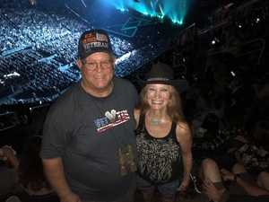 Jim attended Tim McGraw & Faith Hill Soul2Soul the World Tour 2018 on Jul 20th 2018 via VetTix