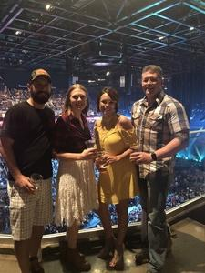 Melissa attended Tim McGraw & Faith Hill Soul2Soul the World Tour 2018 on Jul 20th 2018 via VetTix