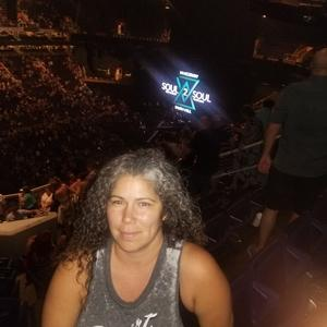Lacy attended Tim McGraw & Faith Hill Soul2Soul the World Tour 2018 on Jul 20th 2018 via VetTix