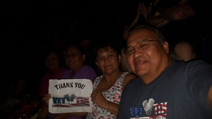 Wil attended Tim McGraw & Faith Hill Soul2Soul the World Tour 2018 on Jul 20th 2018 via VetTix