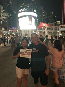 Stephen C attended Tim McGraw & Faith Hill Soul2Soul the World Tour 2018 on Jul 20th 2018 via VetTix