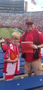 Adam attended Manchester United vs. Liverpool FC - International Champions Cup 2018 on Jul 28th 2018 via VetTix