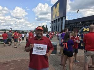 Jose attended Manchester United vs. Liverpool FC - International Champions Cup 2018 on Jul 28th 2018 via VetTix