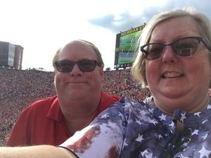 Catherine attended Manchester United vs. Liverpool FC - International Champions Cup 2018 on Jul 28th 2018 via VetTix