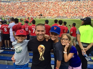 Pedro attended Manchester United vs. Liverpool FC - International Champions Cup 2018 on Jul 28th 2018 via VetTix