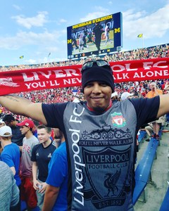 Dustin attended Manchester United vs. Liverpool FC - International Champions Cup 2018 on Jul 28th 2018 via VetTix